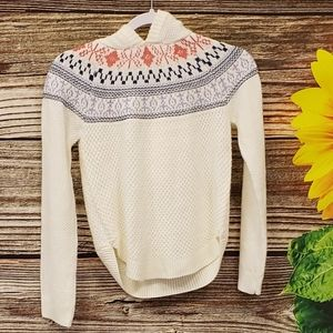 Cloud chaser hooded knitted pullover sweater NWT
